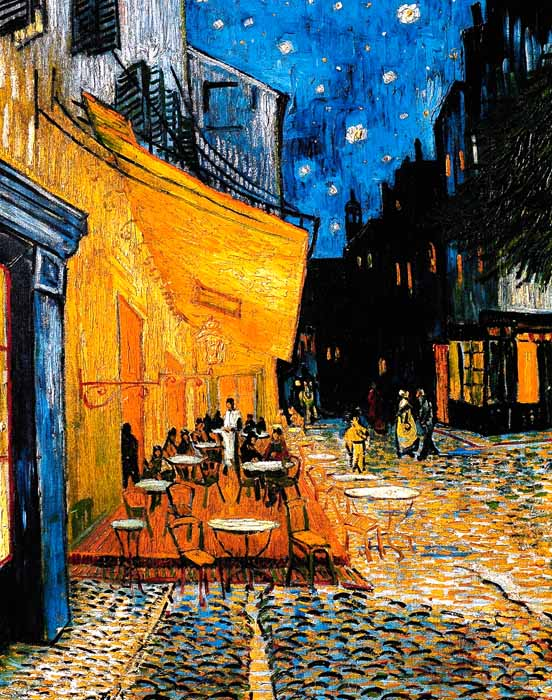 ARLES CAFE CHAISE NUIT