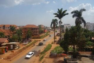Der Stadtrand von Kampala