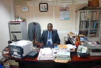 Godfrey Nabongo - Manager und Chef des Departments für Kommunikation und Public Relations im nationalen Statistikamt