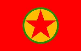 Logo der PKK.