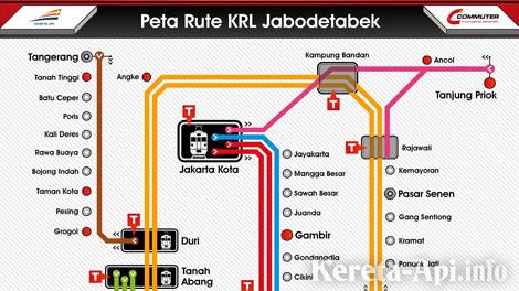 Info Rute Dan Jalur Kereta Ka Commuter Jabodetabek Info Kereta Api