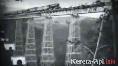 Bentuk asli Jembatan Cikubang 1912