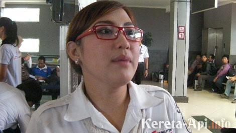 Eva Chairunnisa, Vice President Manager Komunikasi PT KCJ