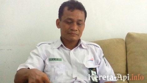 Manager Humas PT KAI Daop 6 Yogyakarta, Eko Budiyanto
