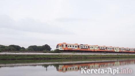 KA Cepu ekspres rangkaian Blora Jaya