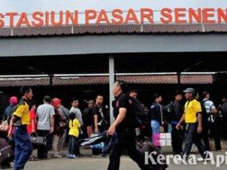 Stasiun Kereta Api Pasar Senen - www.capangker.com