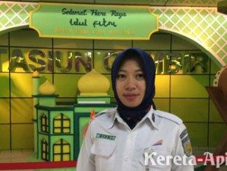 Rizki Afrida, Kepala Stasiun Gambir - www.tribunnews.com