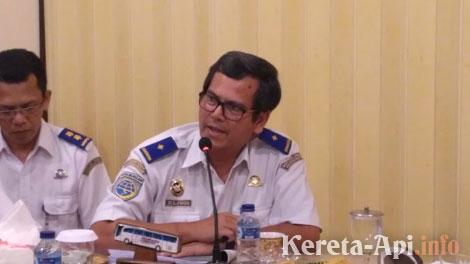 Direktur Prasarana Perkeretaapian, Zulfikri - solo.tribunnews.com