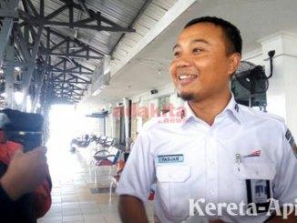 Kepala Stasiun Kereta Api Blitar, Fadjar Wahyudi - www.adakitanews.com