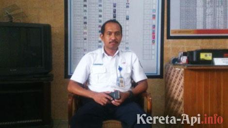 Budi Arifin, Kepala Sub Urusan Komersial Stasiun Solo Balapan - solo.tribunnews.com