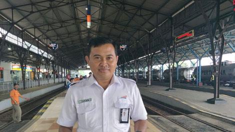 Ixfan Hendriwintoko, Manajer Humas KAI DAOP V Purwokerto - fspkep.or.id
