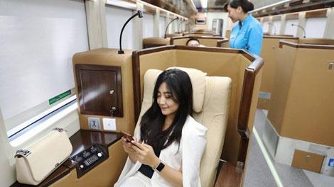Kereta Api Luxury Sleeper - jatim.tribunnews.com