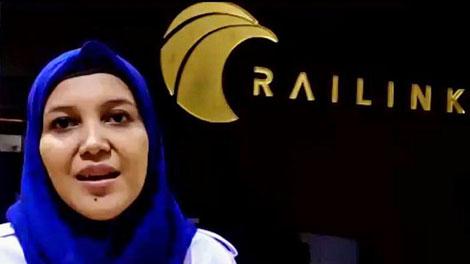 Diah Suryandari, Humas PT Railink - poskotanews.com