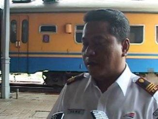 Heru Salam, Kepala Stasiun KA Sukabumi - headlinejabar.com