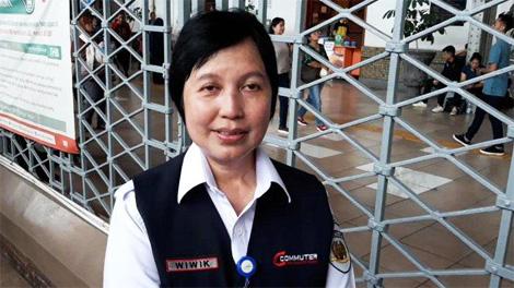Direktur Utama PT KCI, Wiwik Widayanti