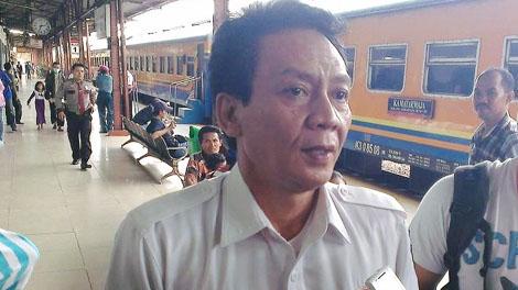 Agus Komarudin, VP Public Relations PT KAI - wartakota.tribunnews.com