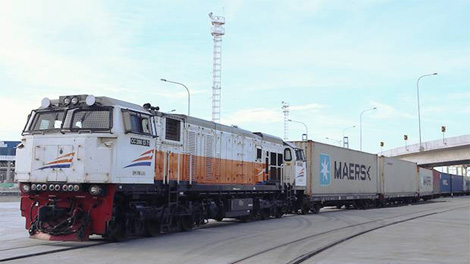 Kereta Api Logistik