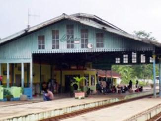 Suasana di Stasiun Cibatu