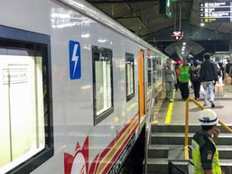 Suasana Stasiun Tugu Yogyakarta
