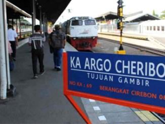 KA Argo Cheribon rute Stasiun Cirebon-Stasiun Gambir