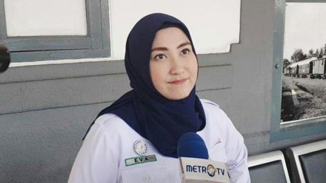Eva Chairunisa, Kepala Humas PT KAI Daop 1 Jakarta - www.tribunnews.com