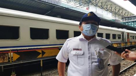Daniel Johannes Hutabarat, Vice President PT KAI Divre I Sumut - sumut.antaranews.com