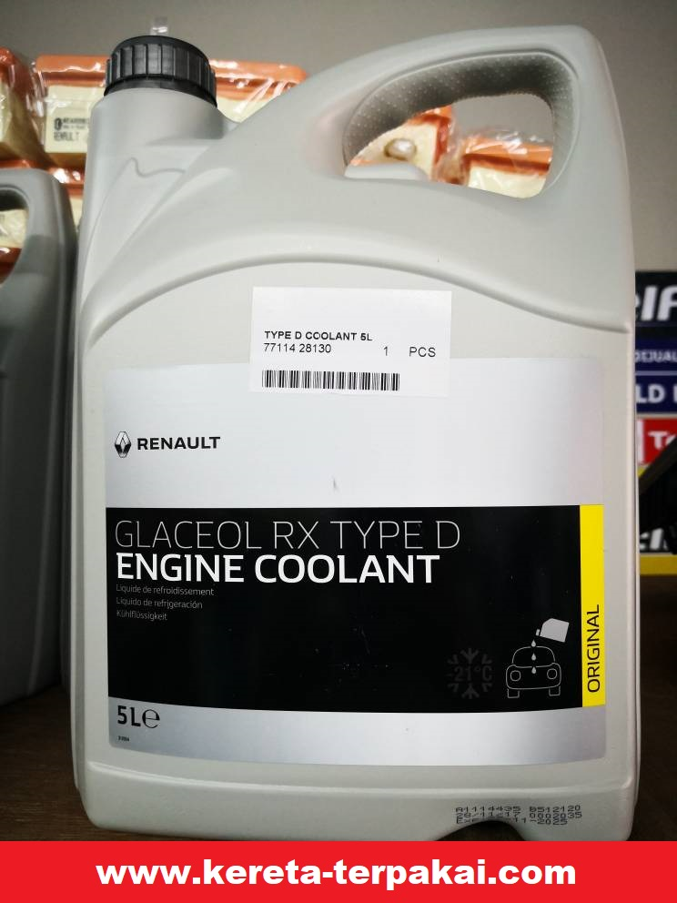 Renault Engine Coolant