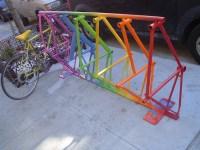 Woodwork Homemade Bike Parking Rack PDF Plans