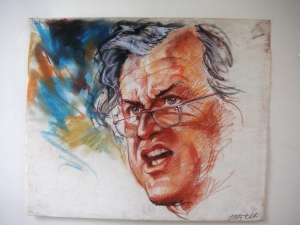 Senator Ted Kennedy by Betty Wells (copyright protected)