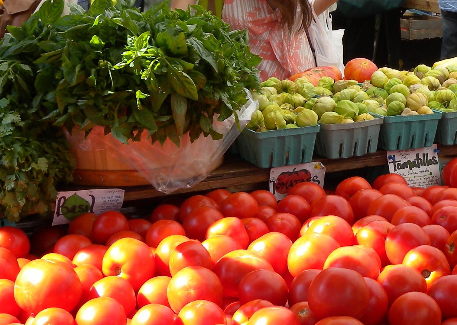 Fresh Tomatoes! by Keri Douglas 2009