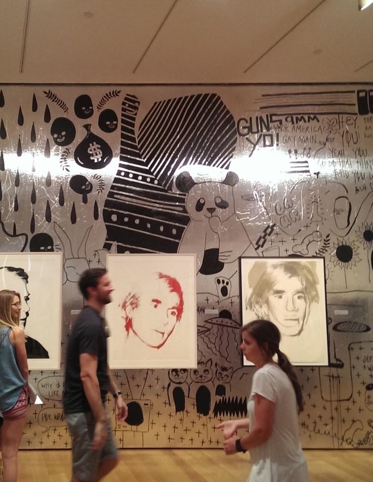 Aluminum walls at the High Museum of Art in Atlanta