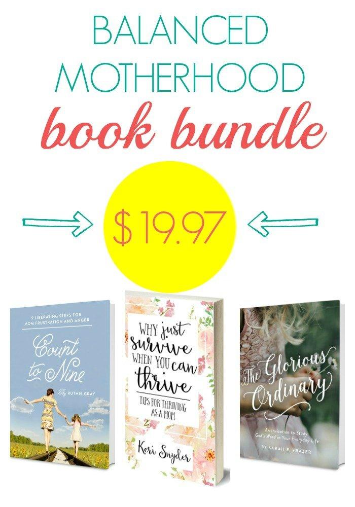 Balanced Motherhood Book BUndle