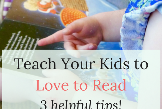 Great tips to teach your kids to love reading