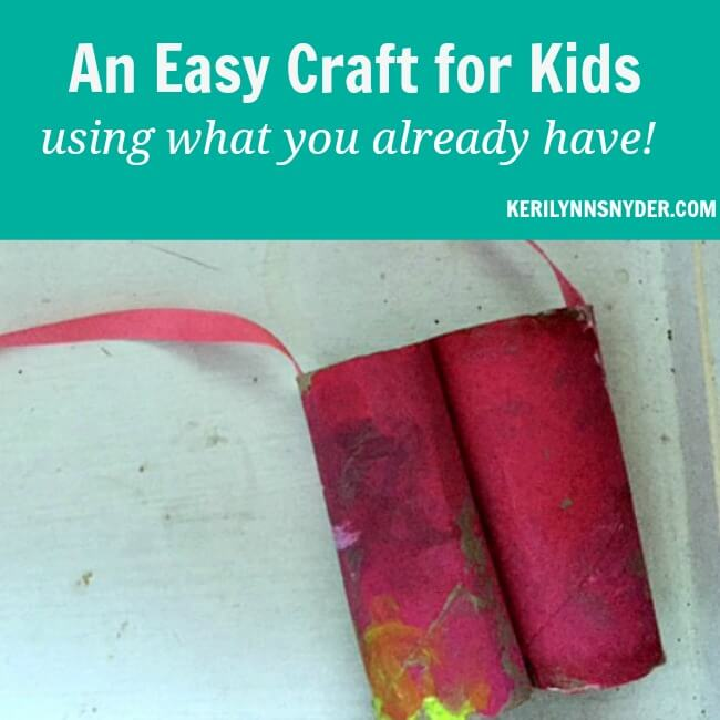 Easy Binoculars Craft using What You Already Have