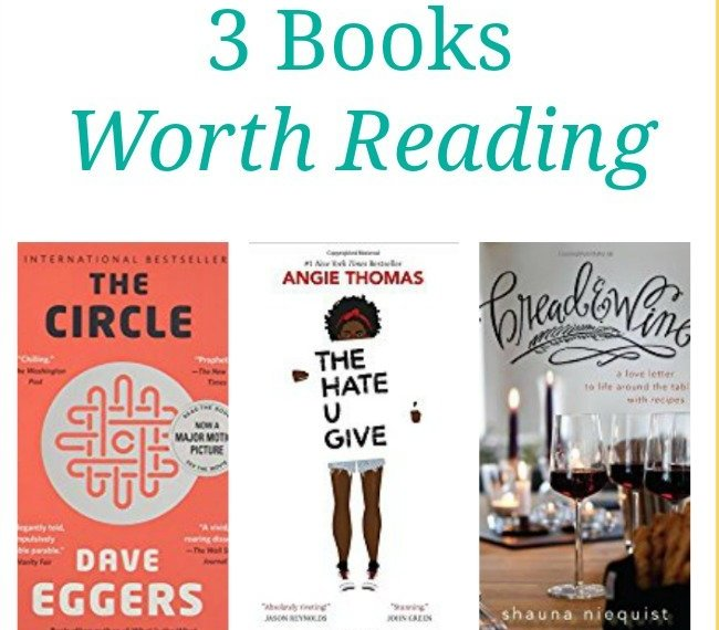 What I am Reading- 3 Books to add to your reading list