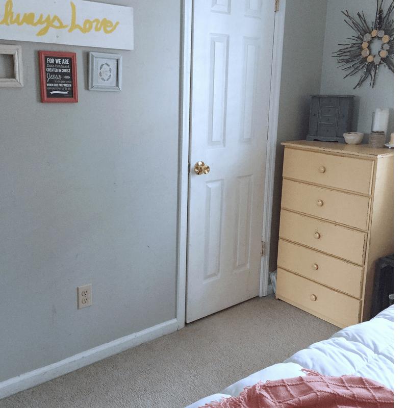 Master Bedroom Decluttering, Small Master Bedroom tips
