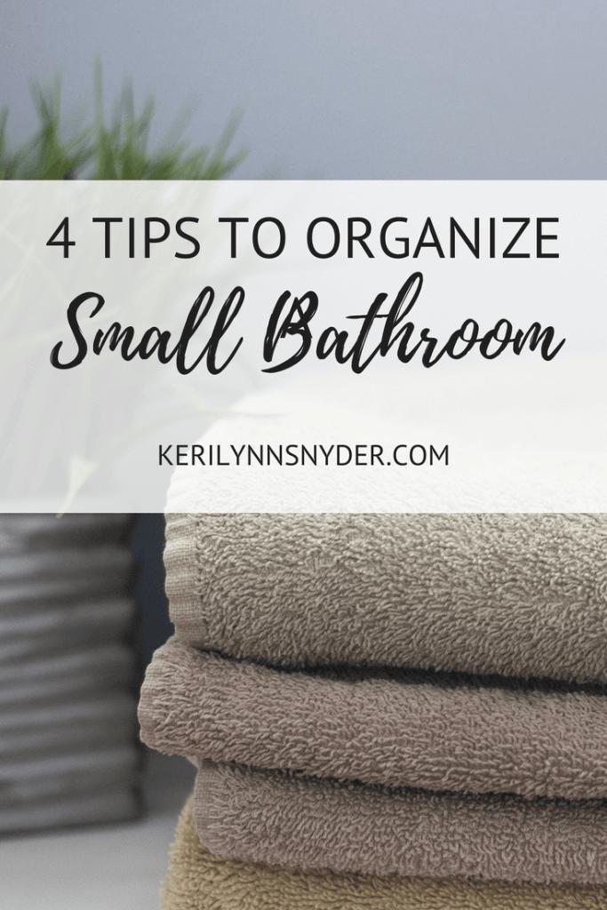 How to organize a small bathroom, bathroom tips