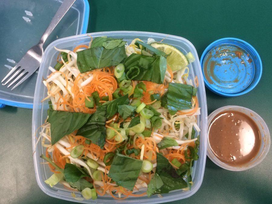 Nime Chow Salad