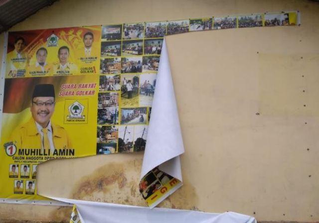 Photo of Terkait Baliho dan Pengancaman Warga, Muhilli: Kalau Tim Saya Salah, Saya Minta Maaf