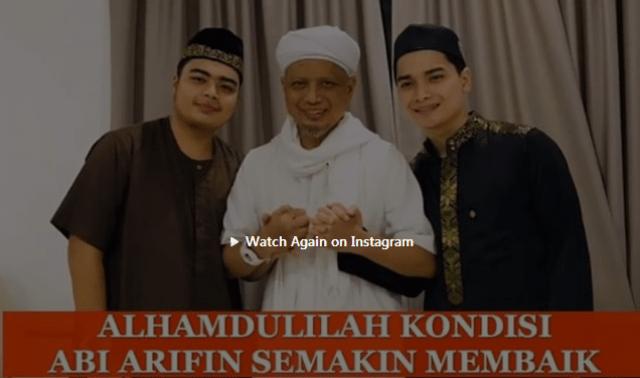 Photo of Alhamdulillah Kondisi Ustaz Arifin Sehat, Sudah Tiba di Indonesia