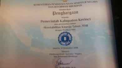 Photo of Pemkab Kerinci Raih SAKIP Nilai B dari Penilian Menteri PAN dan RB