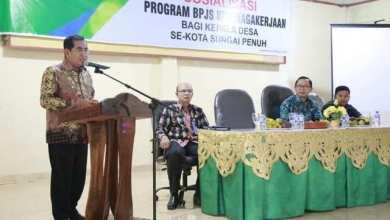 Photo of Wali Kota Sungai Penuh Buka Sosialisasi BPJS Bagi Kades
