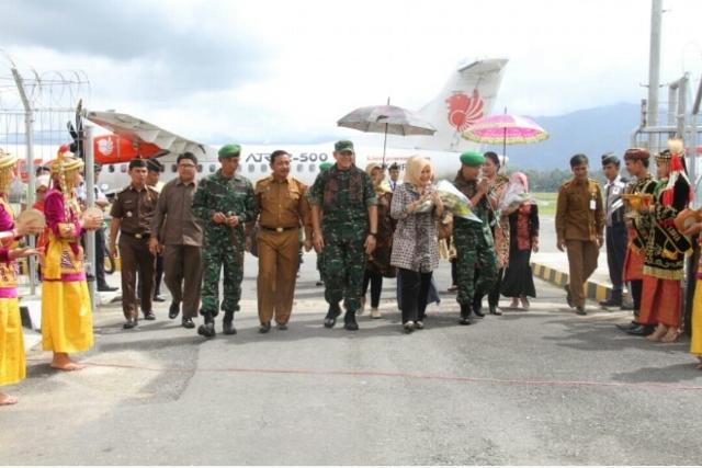 Photo of Bupati Kerinci Sambut Kunjungan Kerja Brigjen Syarial Kasdam II Sriwijaya