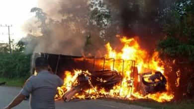 Photo of Ini Identitas 5 Korban Kecelakaan Maut di Merangin