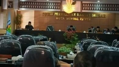Photo of Ketua DPRD Kota Sungai Penuh Pimpin Paripurna Penyampaian KUA-PPAS