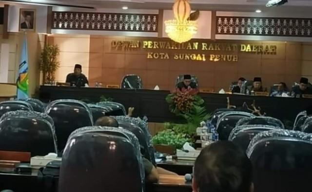Photo of DPRD dan OPD Kota Sungai Penuh Audiensi ke Bappeda Jambi