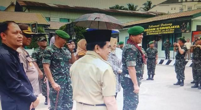 Photo of Wako AJB dan Forkompinda Sambut Brigjen Syarial Kasdam II Sriwijaya