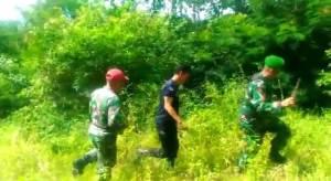 Patroli Bersama Cegah Karhutla Anggota Koramil Gunung Kerinci