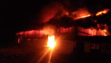 Photo of Breaking News.. Gudang Logistik PTP VI Kayu Aro Kerinci Terbakar