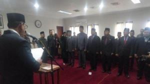 12 Pejabat dan Pengawas Provinsi Jambi Dilantik